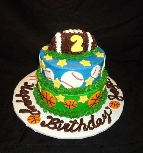 Fotos - <b>Sports</b> <b>Theme</b> <b>Birthday</b> Cake