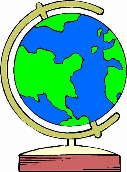 Globe Clip Clipart Around Cliparts Library States