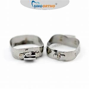 Sino Ortho Bands With Single Tube And Cleat  Good Bonding