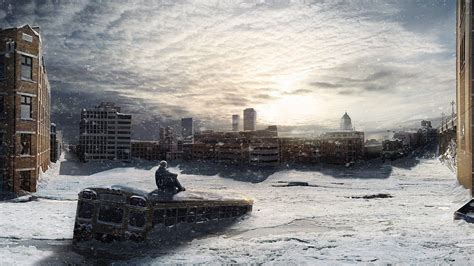 city snow snow in city wallpapers wallpaper cave