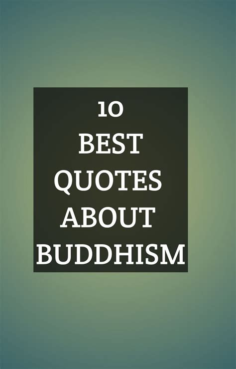 10 Best Quotes About Buddhism   1000 in 2020   Good happy ...