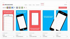 applaunchpad create beautiful app store google play With app store screenshot template