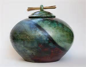keepsake for ashes unique ceramic cremation urn artistic raku urn
