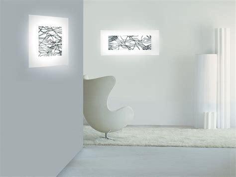 applique vetro di murano laguna applique rettangolare in vetro soffiato di murano