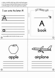 learning the alphabet and initial sounds collection With printable alphabet book template