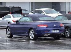 Mercedes CKlasse Cabrio gespot zonder camouflage nieuws