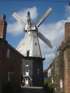 cranbrook union windmill russells yard  oast house