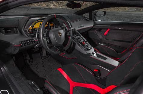 lamborghini aventador sv roadster interior 2015 lamborghini aventador reviews and rating motor trend