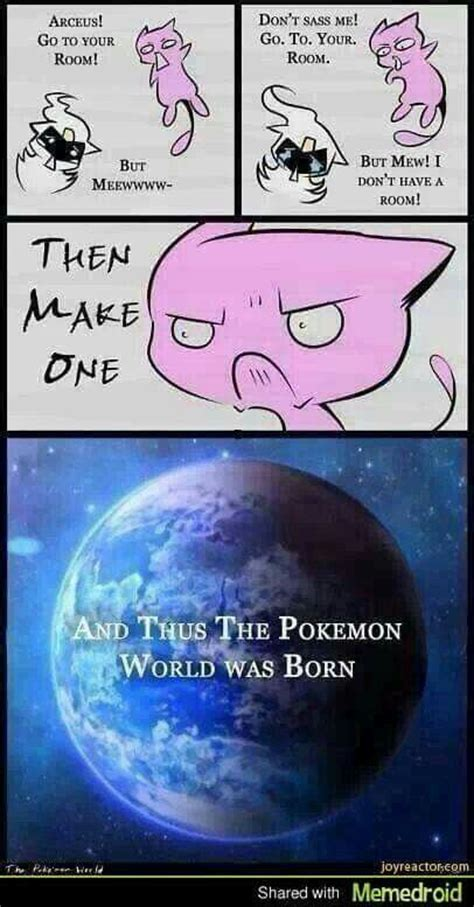 Pokemon Memes Clean - mew and arceus meme pok 233 mon pinterest meme