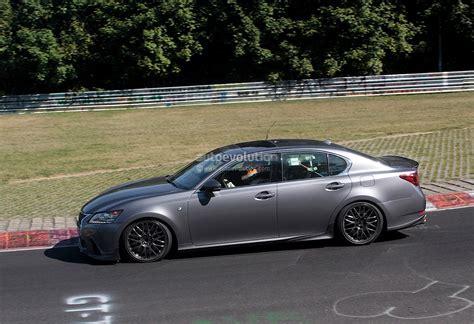 gsf lexus 2015 spyshots 2015 lexus gs f tested on track autoevolution