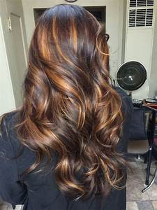 Image result for brown hair with dark caramel highlights ...