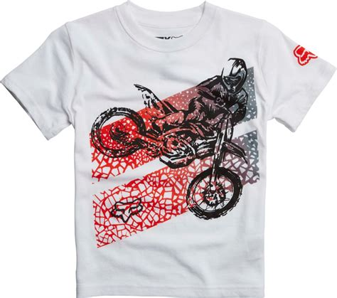 fox motocross shirt fox racing kids boys onaga motocross short sleeve t shirt