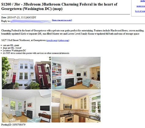 Craigs List Appartments by This Is A Craigslist Rental Scam
