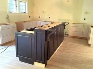 Building, Kitchen, Island, Bar, Breakfast, Islnd, Cbinets, Ing, Diy, Base, Cabinets