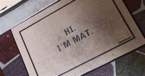 Creative Doormats by 10 Of The Most Creative Doormats That Will Make You Want