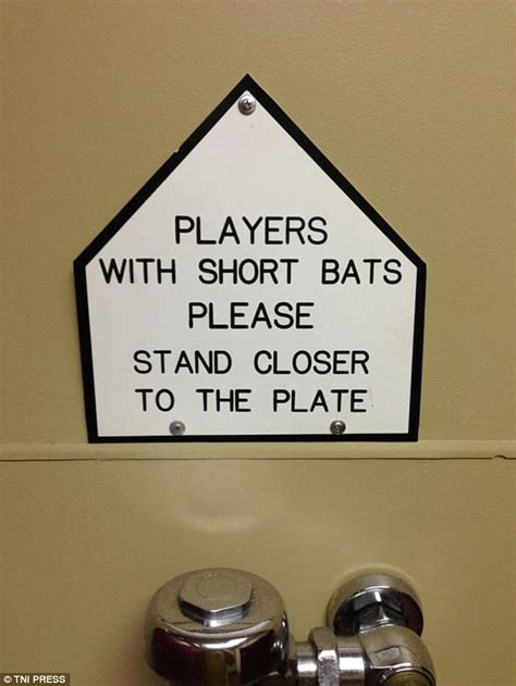 funny  bizarre bathroom signs    world