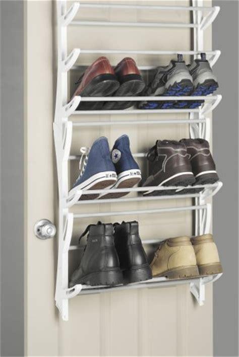 Whitmor Overthedoor 36 Pair Hanging Shoe Rack Organizer