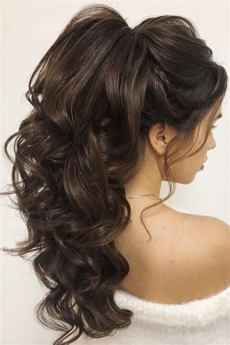 wedding hairstyles  long hair  wedding