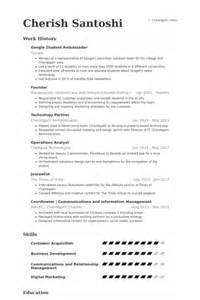 Resume For Adwords by Adwords Resume Some Creative Resumes That Got Interviews 20 Stagiaire En