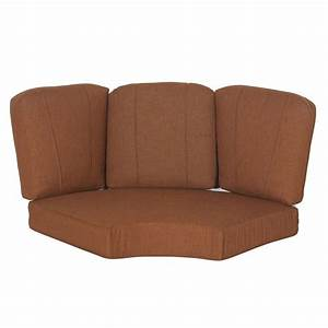 Hampton bay cedarvale replacement outdoor sectional for Sectional sofa seats 6