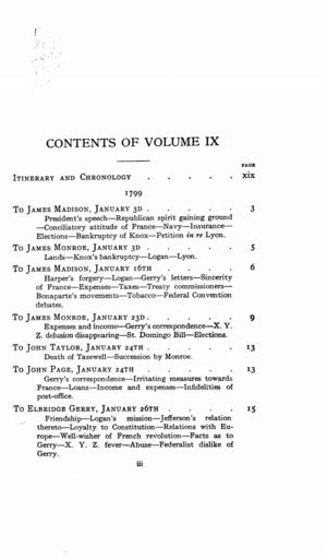 The Works of Thomas Jefferson vol. 9 (1799-1803) - Online