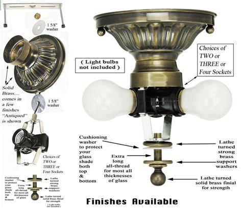 pendant light parts vintage hardware lighting