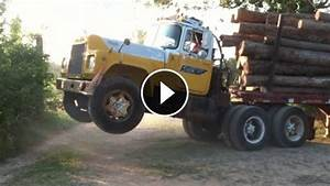 Mack Truck Does Wheelie