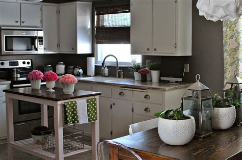 kitchen island countertop overhang 24 tiny island ideas for the smart modern kitchen