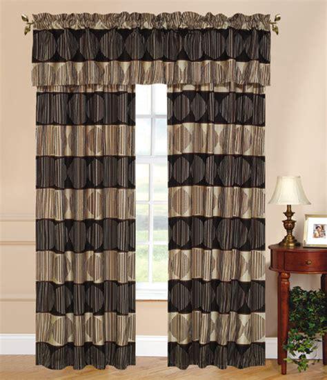 cruise curtain set w tassels sheers