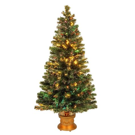 national artificial christmas trees martha stewart living 4 ft feel real artificial 3432