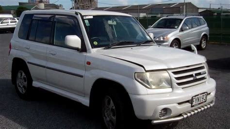 mitsubishi pajero io 2000 mitsubishi pajero io pictures information and