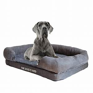 extra large orthopedic bolster dog bed webnuggetzcom With best dog bed for hip dysplasia