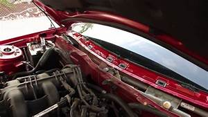 2007 ford mustang water leak fixed youtube With prix chassis pvc