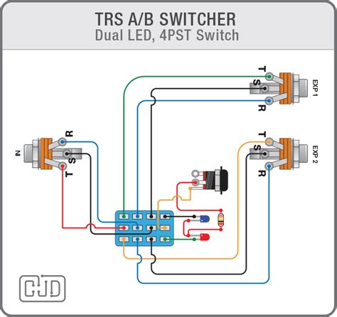 Ab Pedal Diagram by Building An Expression Pedal A B Switcher Can You Tell Me