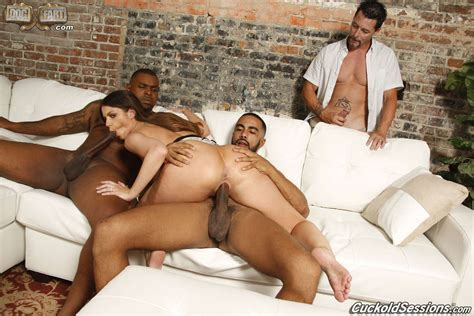 Brooklyn Chase Cuckolds Hubby With Black Dicks 1 Of 2