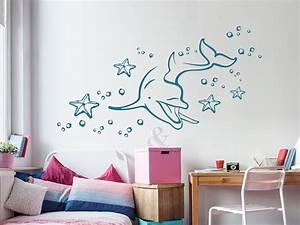 Wandtattoo Unterwasserwelt Kinderzimmer : wandtattoo delphin unter wasser wandtattoo de ~ Sanjose-hotels-ca.com Haus und Dekorationen