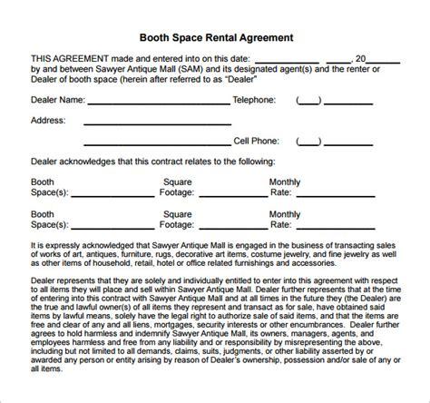 sle salon booth rental agreement pin salons