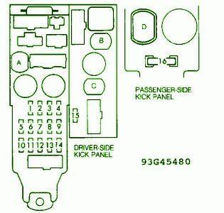Turn Signal Light Circuit Wiring Diagrams