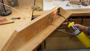 wooden grave marker With how to burn small letters into wood
