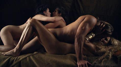 Naked Ellen Hollman In Spartacus War Of The Damned