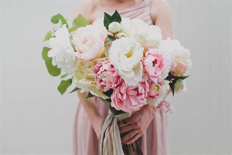 Diy Silk Flower Wedding Bouquet  Diy (do It Your Self