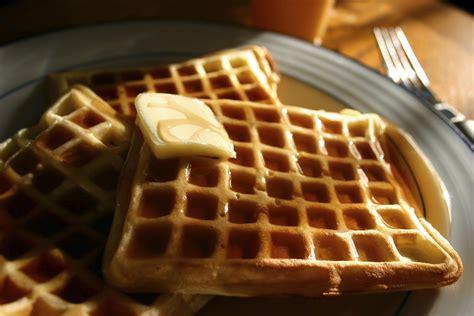 easy sugar  dinner waffles recipe