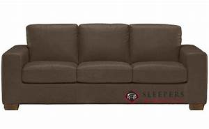 quick ship rubicon b534 queen leather sofa by natuzzi With natuzzi sectional sleeper sofa