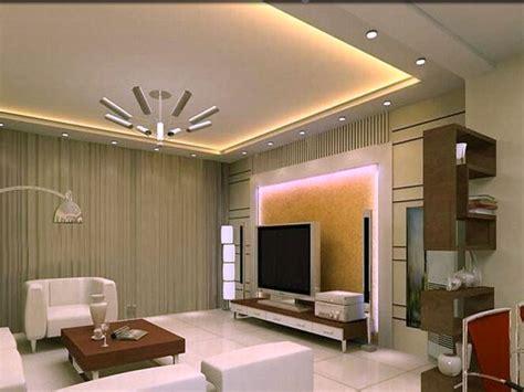 False Ceiling Designs In Living Room