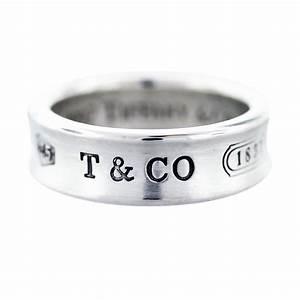 tiffany and co sterling silver 1837 wedding band boca raton With tiffany and co mens wedding rings