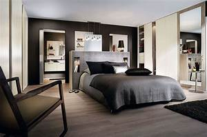 grande suite parentale comment l39agencer mobalpa With couleur qui suit avec le gris 12 decoration chambre parentale contemporaine
