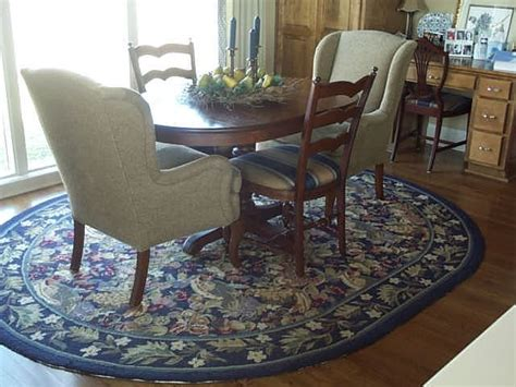 custom area rug traditional dining room