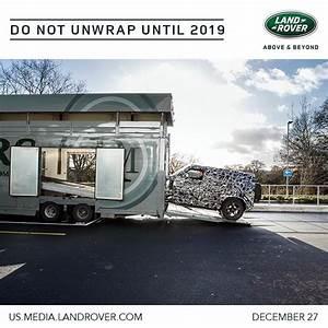 Nouveau Land Rover Defender : land rover annonce le nouveau defender ~ Medecine-chirurgie-esthetiques.com Avis de Voitures