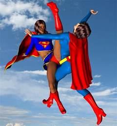 Superwoman vs Supergirl