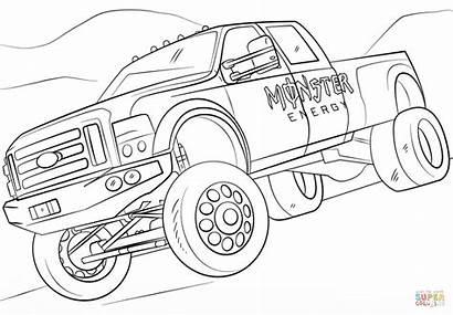 Monster Truck Energy Ausmalbilder Ausmalbild Coloring Zum